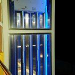 Lift installation at Leros hotel